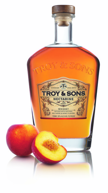 Troy and Sons Nectarine and Honey Whiskey